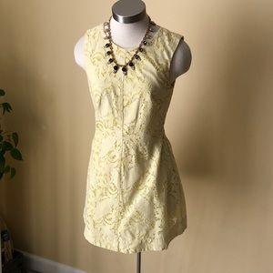 H&M sunny yellow lace dress